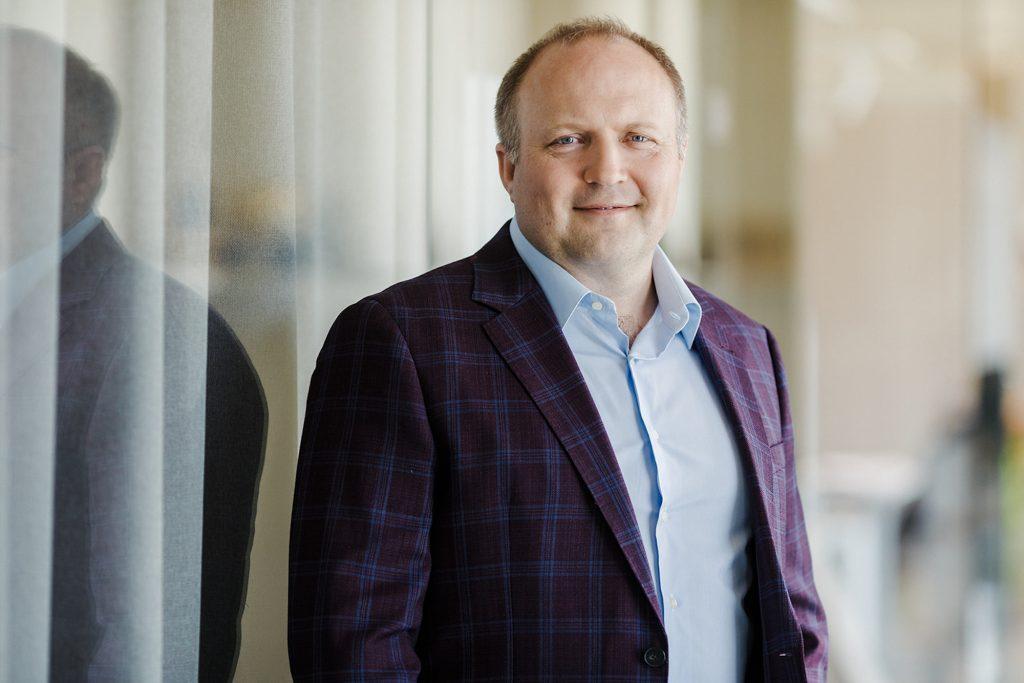 Māris Peilāns, ZAZA TIMBER Production valdes priekšsēdētājs.